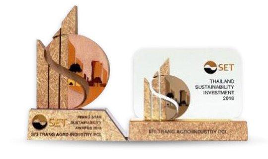 Sustainability Awards from SET Sustainability Awards 2018